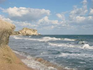 Азовкое побережье Керченского полуострова