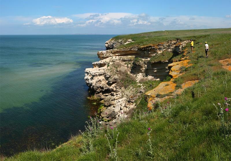 Мыс Казантип, Азовкое море