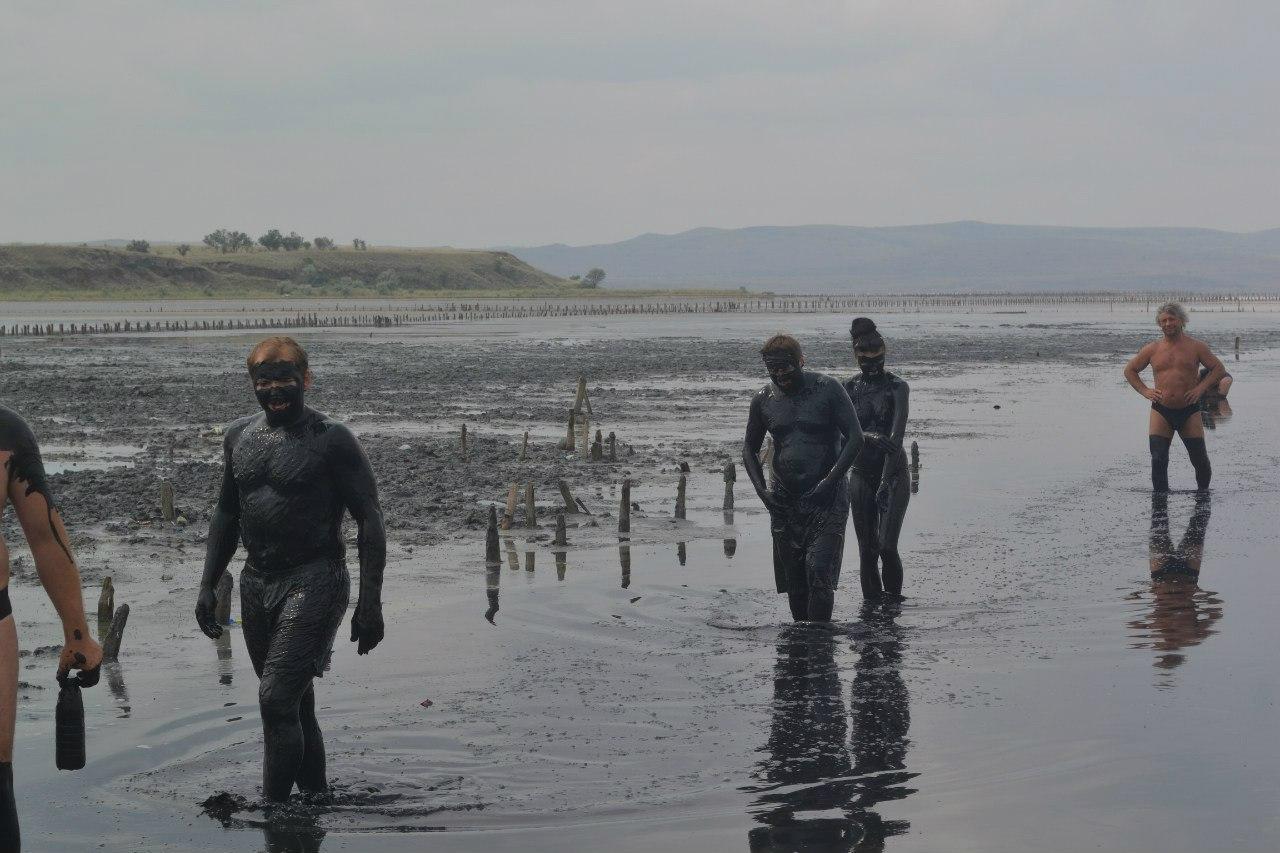 Грязи озера Чокрак, Курортное, Керченский полуостров
