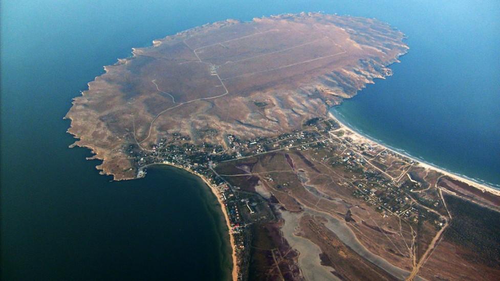Мыс Казантип, Азовское море