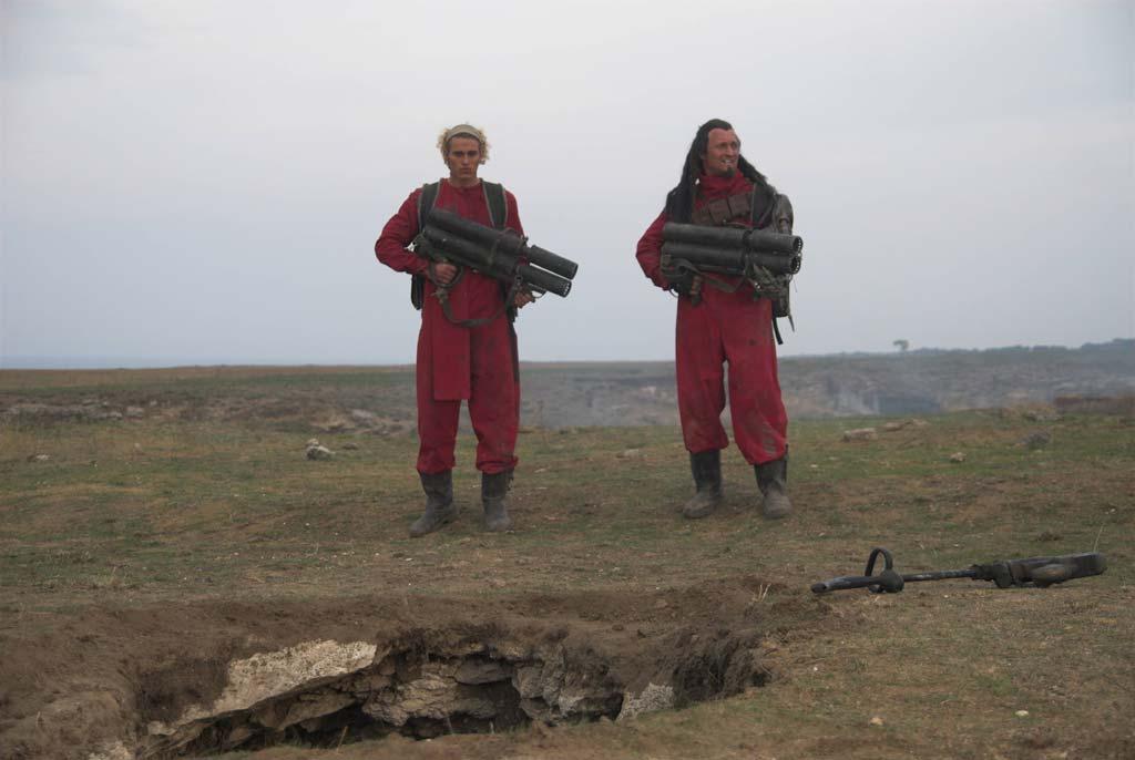 Просторы Керченского полуострова - отличная натура для съемок