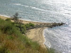 """Дикий пляж """"Крепость"""""""