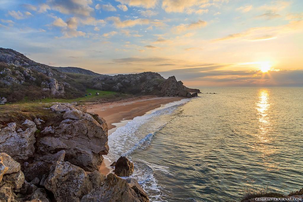 Живописные рассветы и закаты на Генеральских пляжах