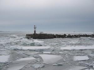 Керченский пролив зимой