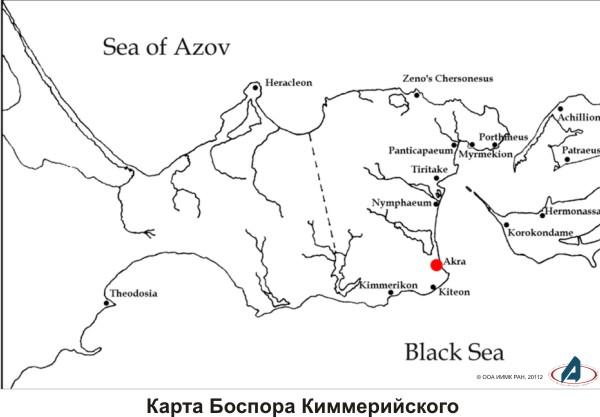 Античные колонии на Керченском проливе