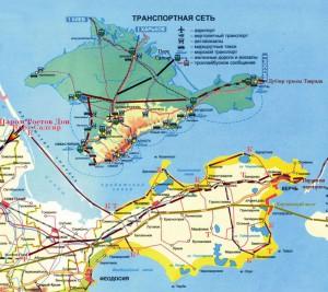 Керченский полуостров и восток Крыма