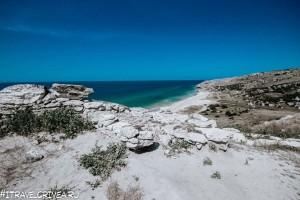 Караларское побережье (Генеральские пляжи) зимой