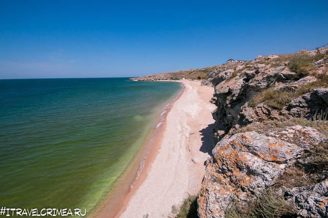 Пляжи Керченского полуострова на Азовском море