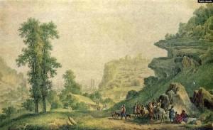 Михаил Иванов. Крепость Инкерман в Крыму. 1796 год