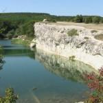 Озеро Белая Стена к юго-западу от Бахчисарая