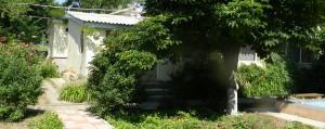 Героевка. База отдыха Коралл, жилые помещения, озеленение, благоустройство, внутренний двор