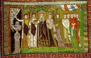 Одежда византийской аристократии на церковных фресках