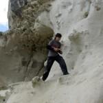 Пещерный город Бакла, южный обрыв