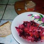Винегрет это легкая закуска очень полезная для желудка