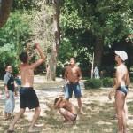 волейбол лягушка у виллы Отрада Алушта